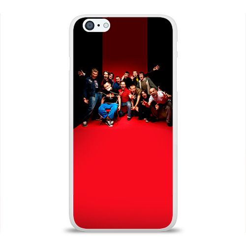 Чехол для Apple iPhone 6Plus/6SPlus силиконовый глянцевый  Фото 01, Ленинград 3