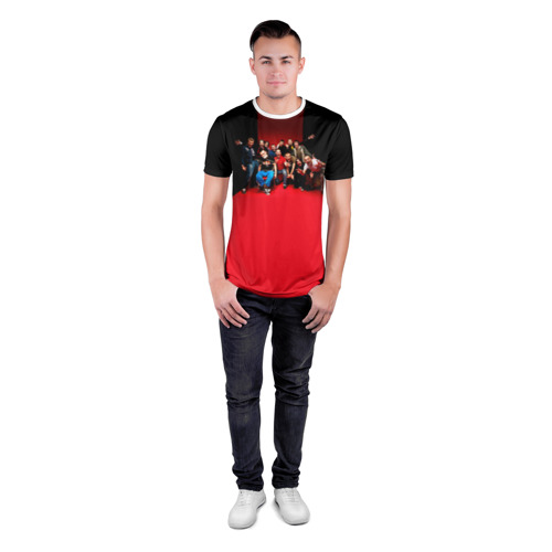 Мужская футболка 3D спортивная  Фото 04, Ленинград 3