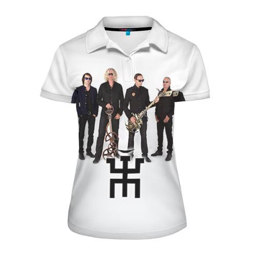 Женская рубашка поло 3D Пикник 2