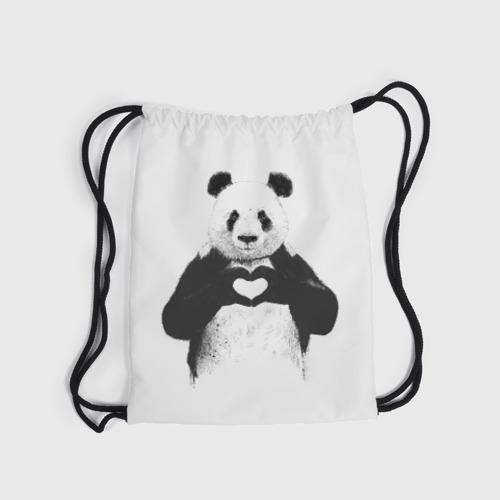 Рюкзак-мешок 3D  Фото 04, Панда Love