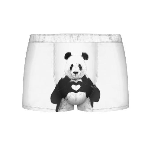 Мужские трусы 3D Панда Love от Всемайки