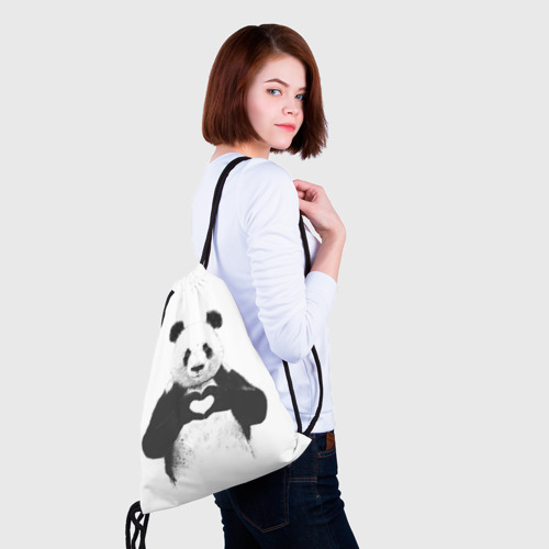 Рюкзак-мешок 3D  Фото 02, Панда Love
