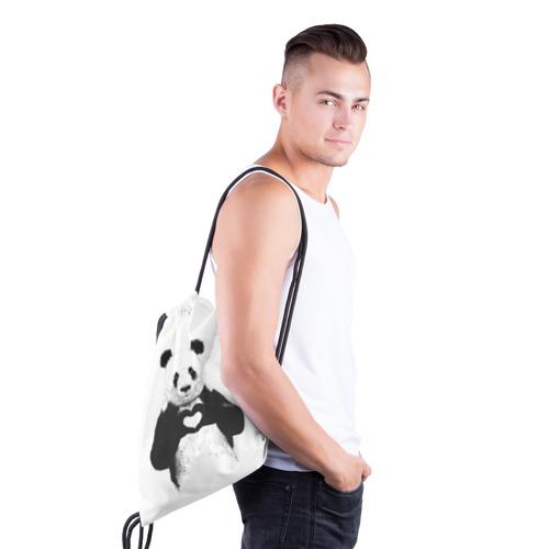 Рюкзак-мешок 3D  Фото 03, Панда Love