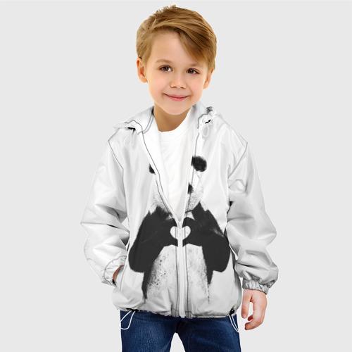 Детская куртка 3D Панда Love Фото 01