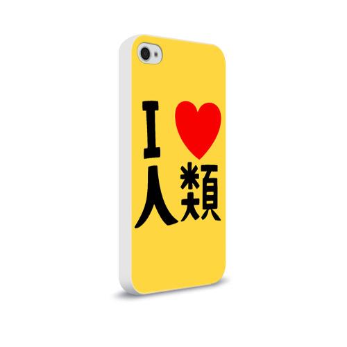 Чехол для Apple iPhone 4/4S soft-touch  Фото 02, No game no life Sora