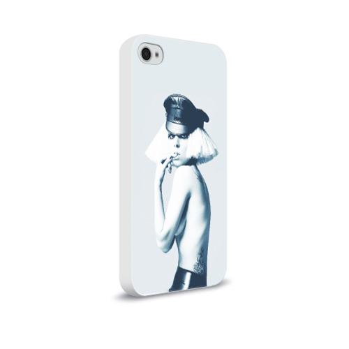 Чехол для Apple iPhone 4/4S soft-touch  Фото 02, Gaga