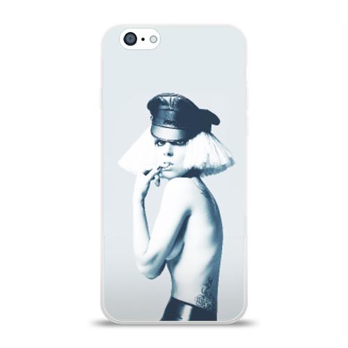 Чехол для Apple iPhone 6 силиконовый глянцевый  Фото 01, Gaga