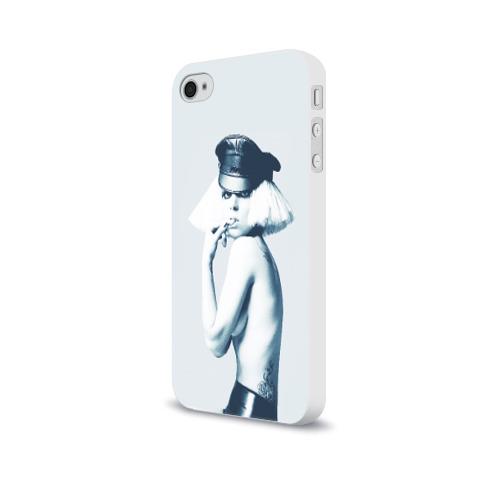 Чехол для Apple iPhone 4/4S soft-touch  Фото 03, Gaga