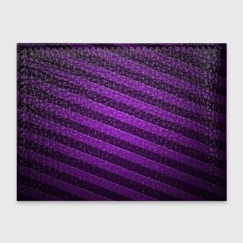 Обложка для студенческого билета  Фото 02, Фиолетовые полосы