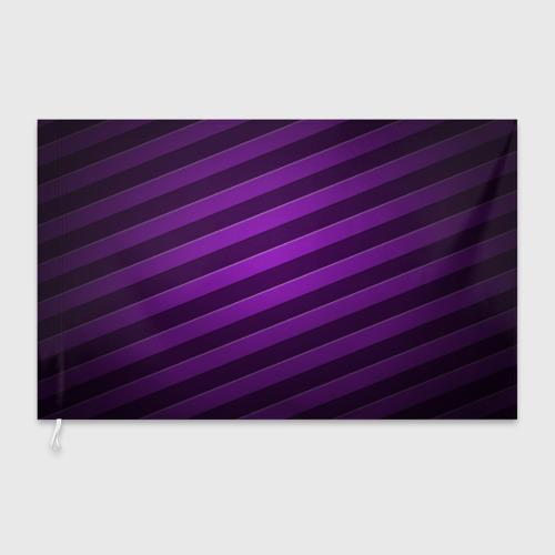 Флаг 3D  Фото 03, Фиолетовые полосы
