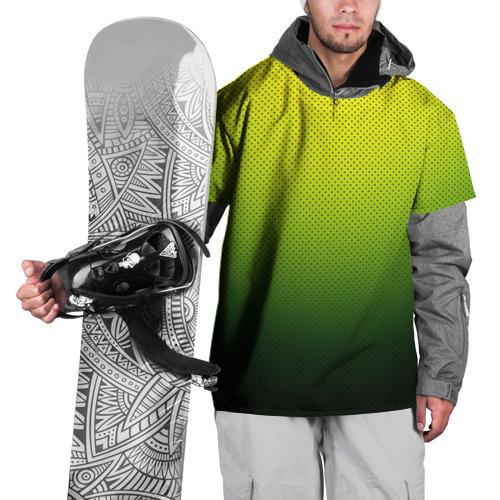 Накидка на куртку 3D  Фото 01, Зелёная текстура