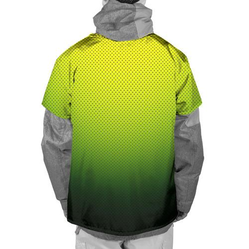 Накидка на куртку 3D  Фото 02, Зелёная текстура