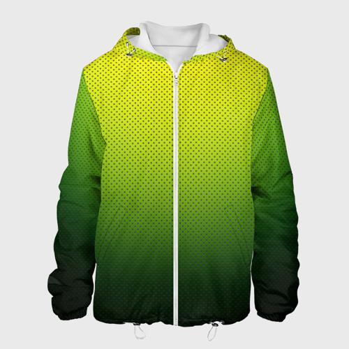 Мужская куртка 3D  Фото 01, Зелёная текстура