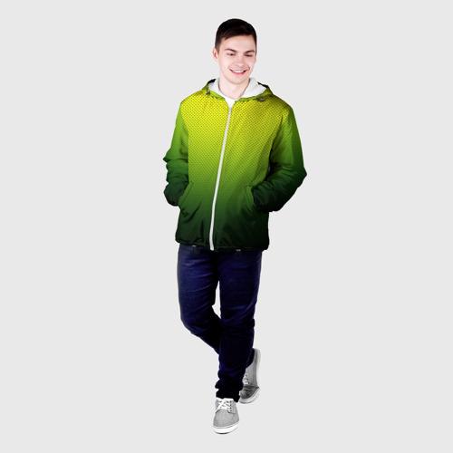 Мужская куртка 3D  Фото 03, Зелёная текстура