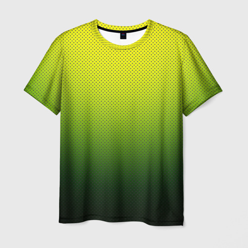 Мужская футболка 3D  Фото 03, Зелёная текстура