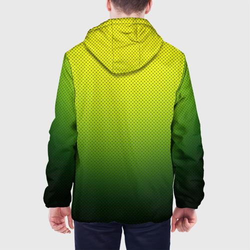 Мужская куртка 3D  Фото 05, Зелёная текстура