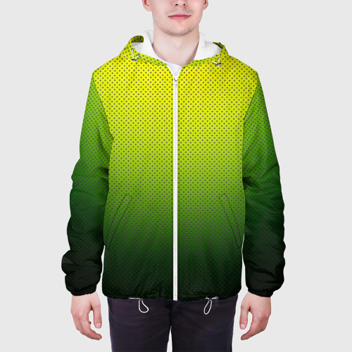 Мужская куртка 3D  Фото 04, Зелёная текстура