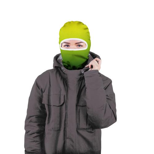 Балаклава 3D  Фото 04, Зелёная текстура