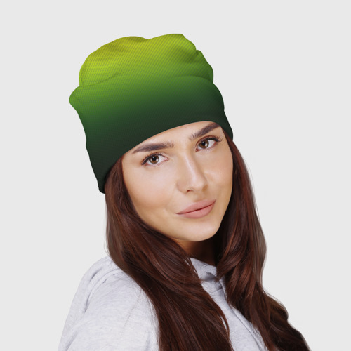 Шапка 3D  Фото 03, Зелёная текстура
