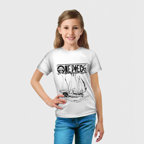 Детская футболка 3D  Фото 03, One piece