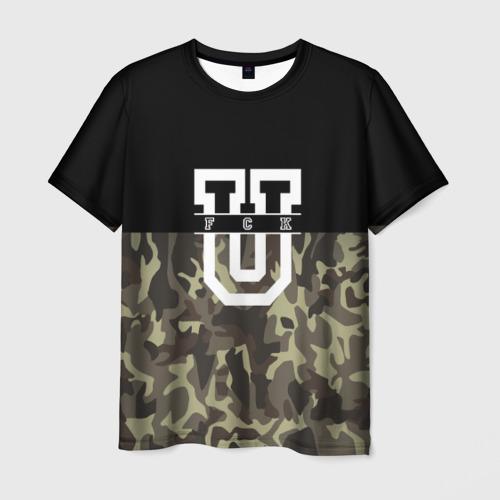 Мужская футболка 3D FCK
