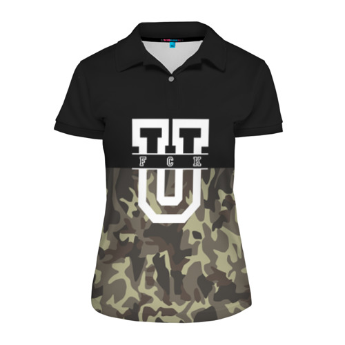 Женская рубашка поло 3D FCK