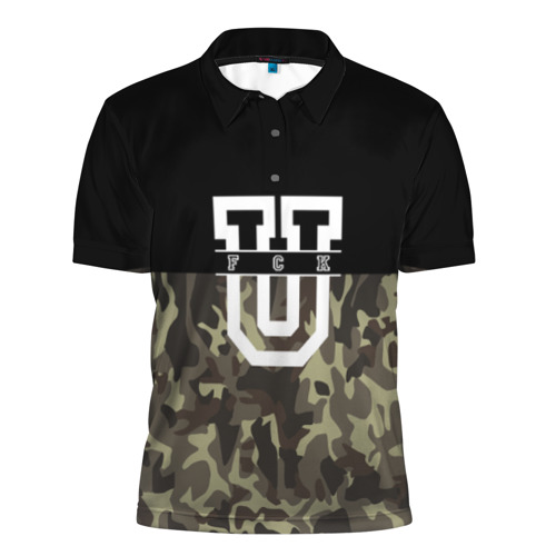 Мужская рубашка поло 3D FCK