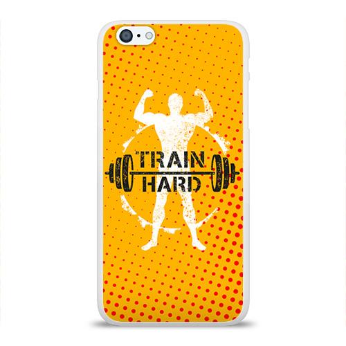 Чехол для Apple iPhone 6Plus/6SPlus силиконовый глянцевый  Фото 01, Train hard 3