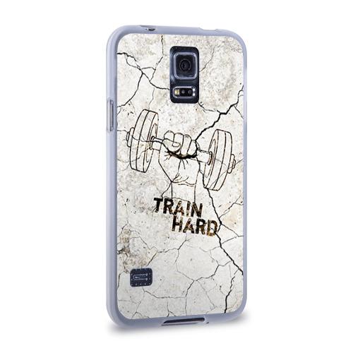 Чехол для Samsung Galaxy S5 силиконовый  Фото 02, Train hard 5