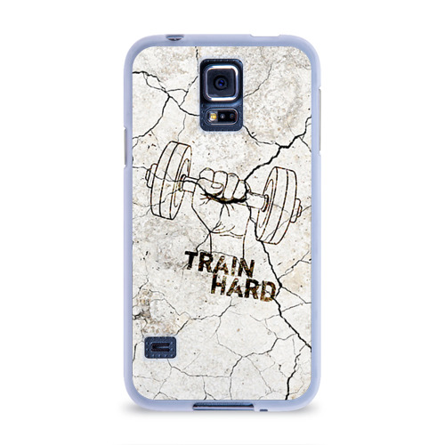 Чехол для Samsung Galaxy S5 силиконовый  Фото 01, Train hard 5