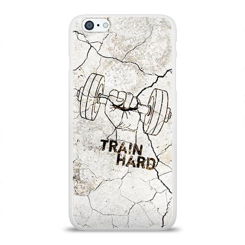 Чехол для Apple iPhone 6Plus/6SPlus силиконовый глянцевый  Фото 01, Train hard 5