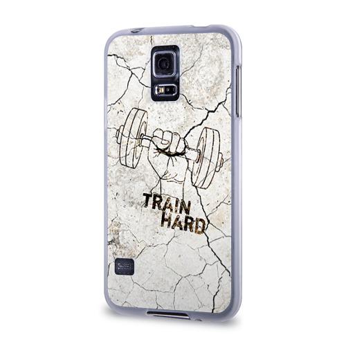 Чехол для Samsung Galaxy S5 силиконовый  Фото 03, Train hard 5