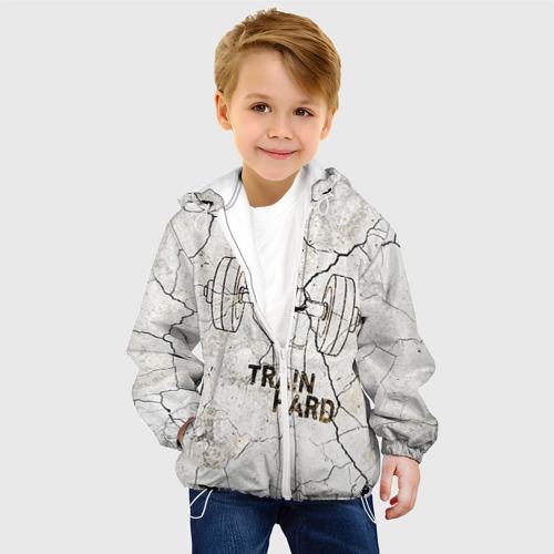 Детская куртка 3D  Фото 03, Train hard 5