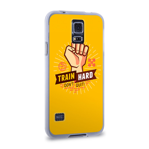Чехол для Samsung Galaxy S5 силиконовый  Фото 02, Train hard 6