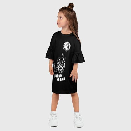 Детское платье 3D  Фото 03, No pain no gain