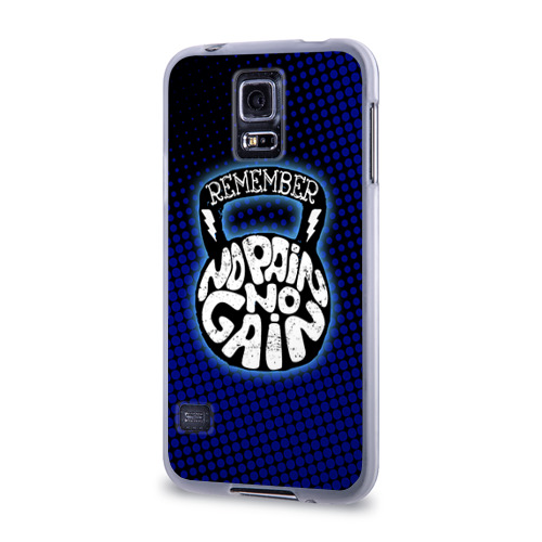 Чехол для Samsung Galaxy S5 силиконовый  Фото 03, No pain no gain 6