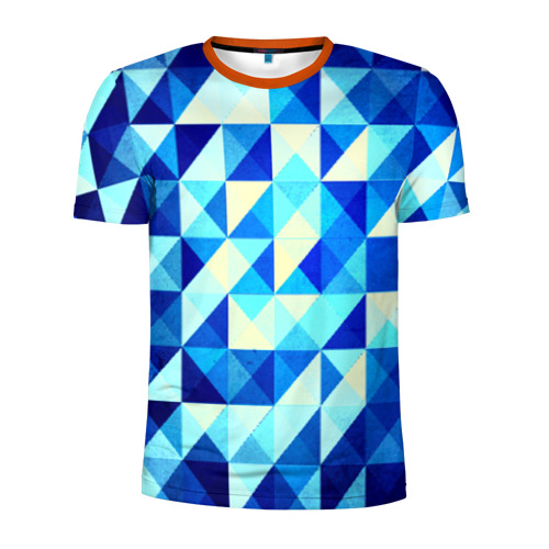 Мужская футболка 3D спортивная Trians one