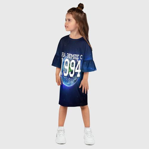 Детское платье 3D  Фото 03, На Земле с 1994