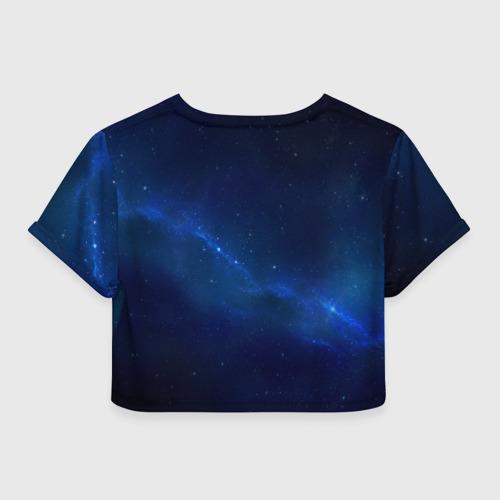 Женская футболка 3D укороченная  Фото 02, На Земле с 1994