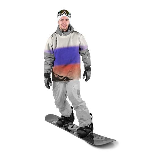 Накидка на куртку 3D  Фото 03, Флаг