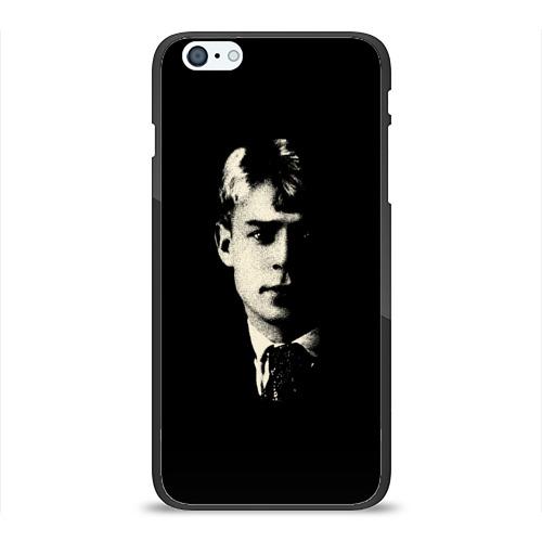 Чехол для Apple iPhone 6/6S Plus силиконовый глянцевый Есенин