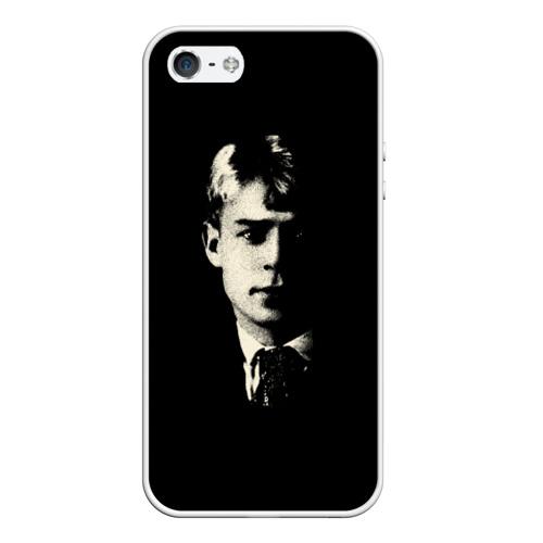 Чехол силиконовый для Телефон Apple iPhone 5/5S Есенин от Всемайки