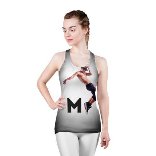 Женская майка 3D спортивная  Фото 03, Мигель