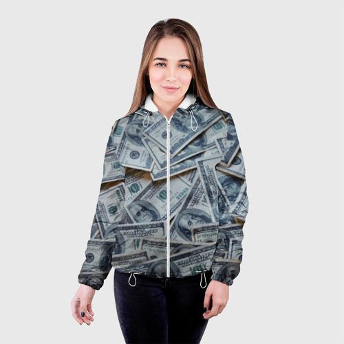 Женская куртка 3D  Фото 03, Money