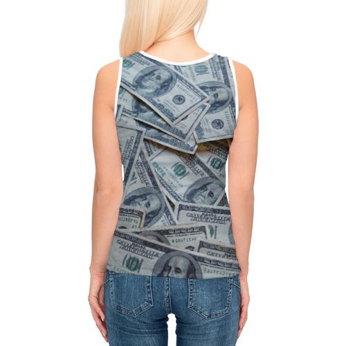 Женская майка 3D  Фото 04, Money