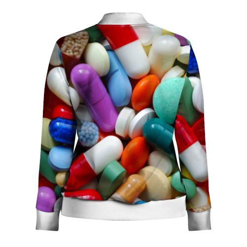 Женская олимпийка 3D  Фото 02, Pills
