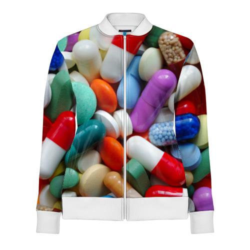 Женская олимпийка 3D  Фото 01, Pills