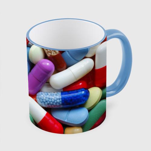 Кружка с полной запечаткой Pills