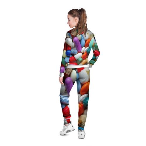 Женская олимпийка 3D  Фото 04, Pills