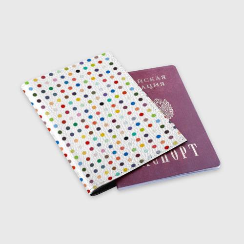 Обложка для паспорта матовая кожа  Фото 03, love lust faith + dreams
